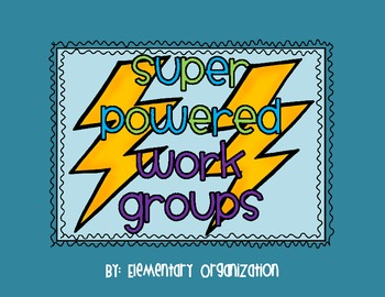 Super Powered Work Group Headers