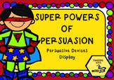 Super Powers of Persuasion - Persuasive Devices Anchor Cha