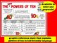 Super Powers of Ten - task cards + printables (set a) –Co