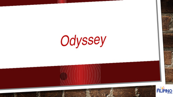 Super Presentation on literary classic- Odyssey