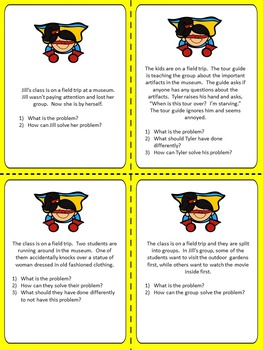 Super Problem Solvers!  Superhero Themed Social Skills Activities