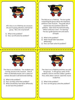Super Problem Solvers!  Superhero Themed Social Skills Activities