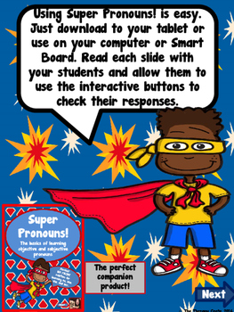 Super Pronoun Freebie!