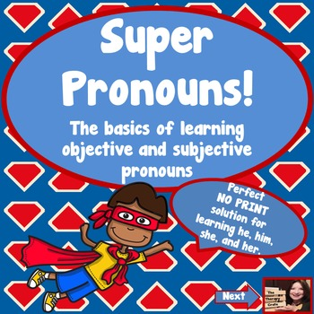 Super Pronouns!