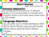 Super Quick Genre Hits: Short Stories Mini Lesson