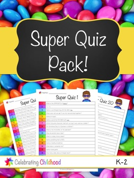Super Quiz - 20 Quizzes for Early Years