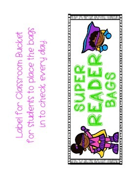 Super Reader Book Bag Starter Kit
