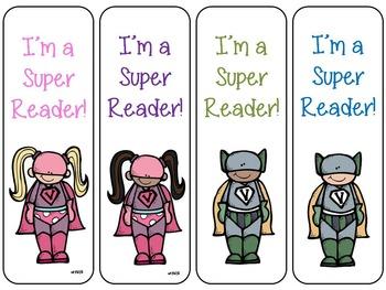 Super Reader Bookmarks