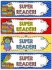 Super Reader Bookmarks AND MORE!