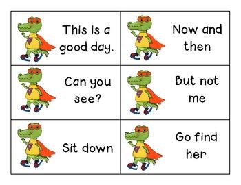 Super Reader Fluency Phrase Games (All 6 Levels!)