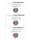 Super Reader Goal Cards