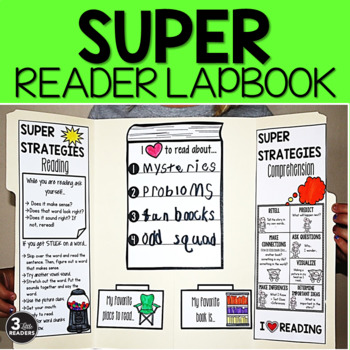 Super Reader Lapbook