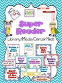 Super Reader Library/Media Center Pack {NOW with EDITABLE signs}