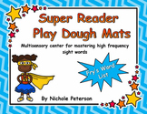Super Reader Play Dough Mats