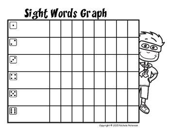 Super Reader Sight Words Graph