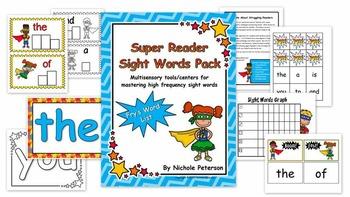 Super Reader Sight Words Pack