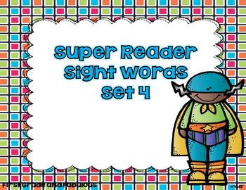 Super Reader-Sight Words Set 4