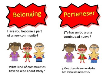 Super Reader Spanish Posters