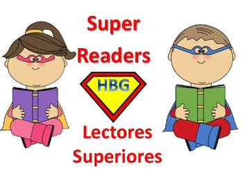 Super Reader Spanish Posters