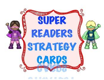 Super Reader Strategy Cards