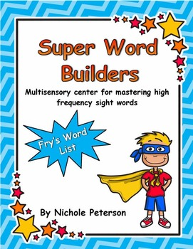 Super Reader Word Builders