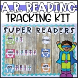 Super Readers - An Interactive AR Tracking Bulletin Board