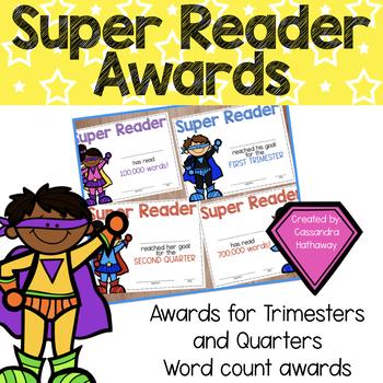 Super Readers Awards