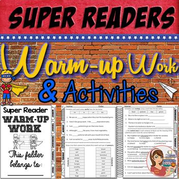 Reading Comprehension Activites
