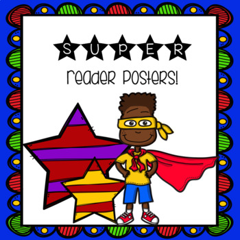 Super Readers Posters