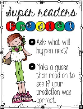 Super Readers Reading Comprehension Posters {FREEBIE}