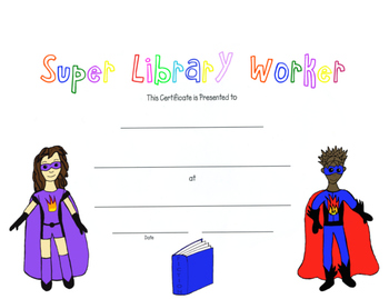 Super Library Worker Award