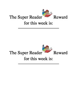Super Reading Incentive Program