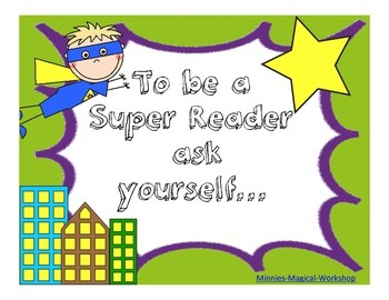 Super ReadingStrategies Posters