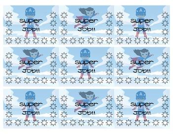 Super Rewards Punch Card