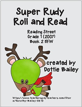 Super Rudy Roll and Read for Reading Street Gr. 1 Book 2 (2007)