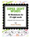 Super SIght Words