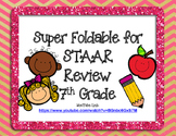 7th Grade Super STAAR Review Foldable