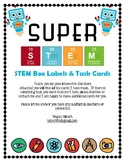 Super STEM Box Science Theme Labels
