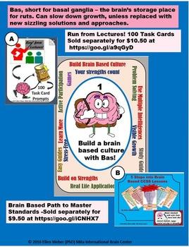 TPT Tasks to Build a Brain Based Culture - Super Sale -