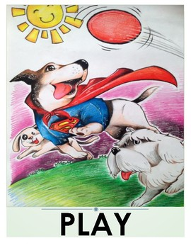Super Sam's Flashcards (action words)