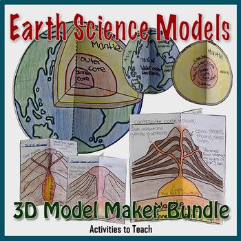 Super Saver Bundle - Earth Science 3D Model Maker Set