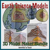 Super Saver Bundle - Earth Science 3D Model Maker Set