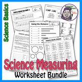 Super Saver Bundle - Science Basics Measuring Worksheet Pa