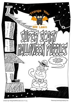 Super Scary Halloween Puzzles FREE