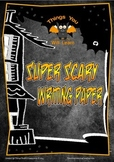 Super Scary Halloween Writing Sheets FREE