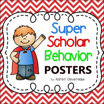 Super Scholar Behavior Posters