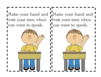 Super School Rules! Booklet (Superhero theme)