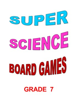 Super Science Board Games Grade 8