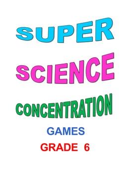 Super Science Concentration Grade 6