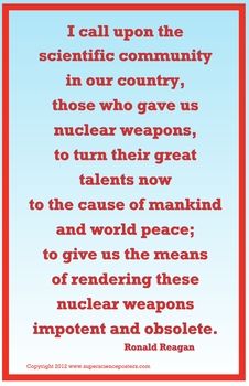 """Super Science Posters- """"World Peace"""""""